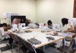 다문화 자조모임 '다우리-아이 옷 만들기 4차 모임 진행