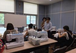 다문화 자조모임 '다우리-아이 옷 만들기' 13회 모임 진행
