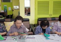 주간보호 어르신 인싸 놀이 프로그램 진행