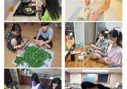 도드림가족봉사단 8월 활동 진행