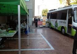 유성구보건소 연계 무료건강검진(건강 100세 버스)