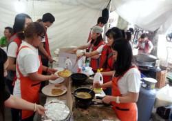 온천대축제 다문화 음식부스 운영