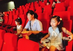 조손가족역량강화사업 5회차 진행(영화관람)
