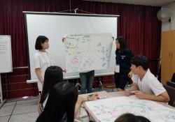 2018년 하반기 청소년 자원봉사학습 아카데미 진행