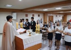 직원 세례식(08월08일)